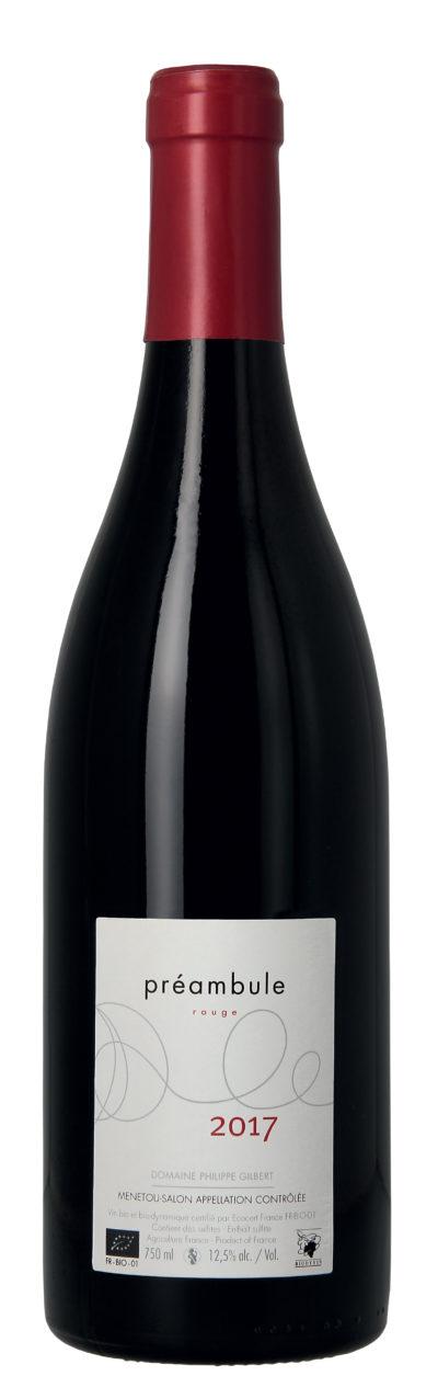 domaine-philippe-gilbert-bouteille-de-vin-preambule-rouge-2018